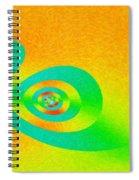 Taking A Nap Spiral Notebook