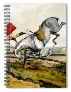 Taking A Tumble From Qualified Horses And Unqualified Riders Spiral Notebook