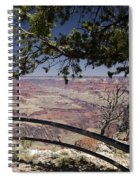 Taking In The Grand View Spiral Notebook