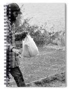 Taking My Pet For A Walk Spiral Notebook