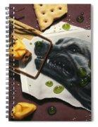 Taking The Bait Spiral Notebook
