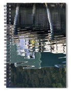 Taku Smokeries Reflected Spiral Notebook