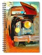 Talbot Lago T15 Ql6 Spiral Notebook