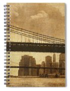 Tale Of Two Bridges Spiral Notebook