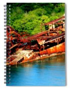 Tales Of Rust Spiral Notebook
