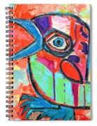 Talkative Baby Bird First This Spring Spiral Notebook
