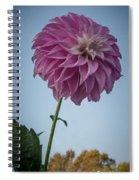 Tall Dahlia Spiral Notebook
