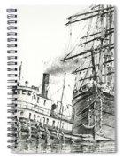 Tall Ship Assist Spiral Notebook