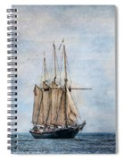 Tall Ship Denis Sullivan Spiral Notebook