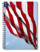 Tall Ship Flag Spiral Notebook