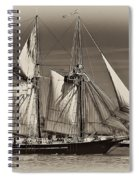 Tall Ship II Spiral Notebook