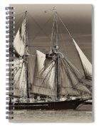 Tall Ship II Spiral Notebook