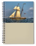 Sailing The 7 Seas Spiral Notebook