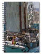 Tall Ship Isla Ebusitania  Spiral Notebook