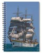 Tall Ship Mircea Spiral Notebook