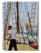 Tall Ship Sailor Duty Spiral Notebook