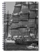 Tall Ship Stad Amsterdam Spiral Notebook