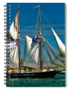 Tall Ship Spiral Notebook