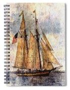 Tall Ships Art Spiral Notebook
