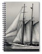 Tall Ships Sailing Boat Spiral Notebook