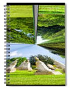 Tall Tombstones Polar View Spiral Notebook