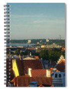 Tallinn Old Town 3 Spiral Notebook