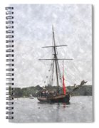 Tallship Providence Prwc Spiral Notebook