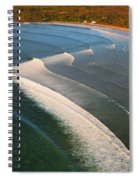 Tamarin Bay Surf Going Off Spiral Notebook