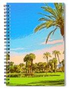 Tamarisk Morning Spiral Notebook