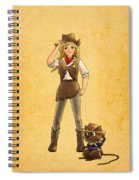 Tammy And Alfred Spiral Notebook