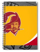 Tampa Bay Buccaneers Spiral Notebook