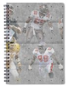 Tampa Bay Buccaneers Legends Spiral Notebook