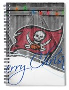 Tampa Bay Buccaners Spiral Notebook