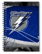 Tampa Bay Lightning Christmas Spiral Notebook
