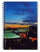 Tampa Sunset Spiral Notebook