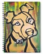 Tan Dog Spiral Notebook