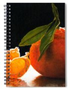 Tangelo Slices Spiral Notebook