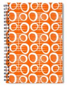 Tangerine Loop Spiral Notebook