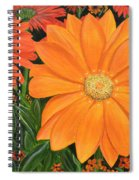 Tangerine Punch Spiral Notebook