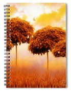 Tangerine Trees And Marmalade Skies Spiral Notebook