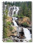Tangle Falls Tumble Spiral Notebook