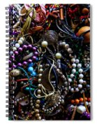 Tangled Baubles Spiral Notebook