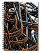Tangled - Industrial Photography By Sharon Cummings Spiral Notebook
