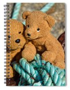 Tangled Up In Blue  Spiral Notebook
