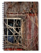 Tangled Up In Time Spiral Notebook