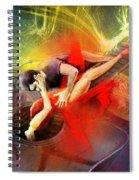 Tangoscape 06 Spiral Notebook