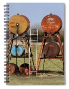 Tanks For The Memories Spiral Notebook