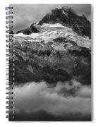 Tantalus Bursting Through The Clouds Spiral Notebook