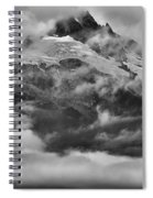 Tantalus Mountain Storms Spiral Notebook