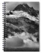 Tantalus Mountains - Canadian Coastal Mountain Range Spiral Notebook